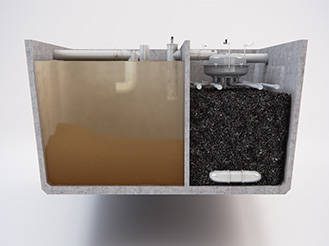 Filtre compact X-Perco Eloy Water
